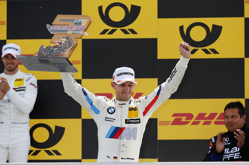 3rd Place Driver Marco Wittmann (GER).