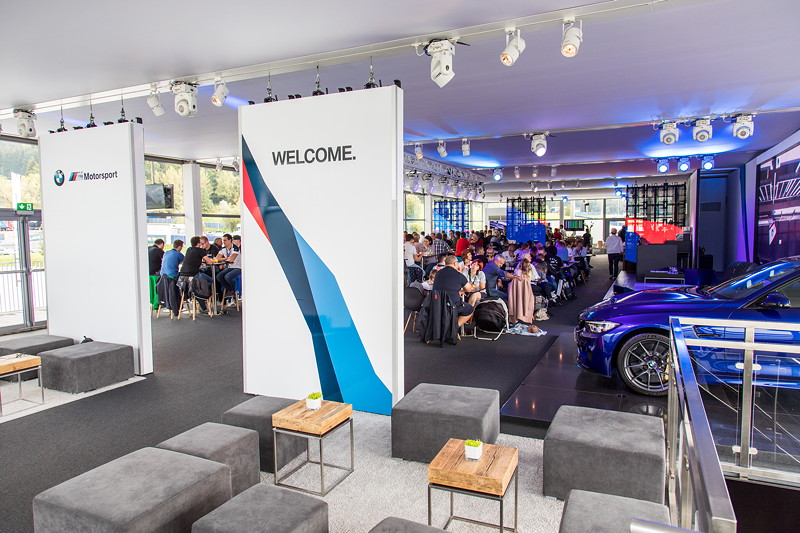 DTM in Spielberg, 23.09.2018. BMW M Motorsport Hospitality.