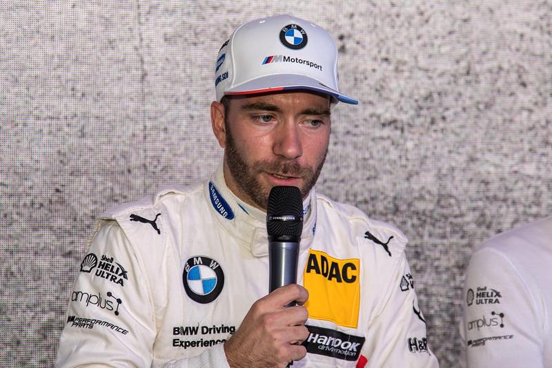 DTM in Spielberg, 23.09.2018. BMW M Motorsport Hospitality, BMW Werksfahrer Philipp Eng im Interview.