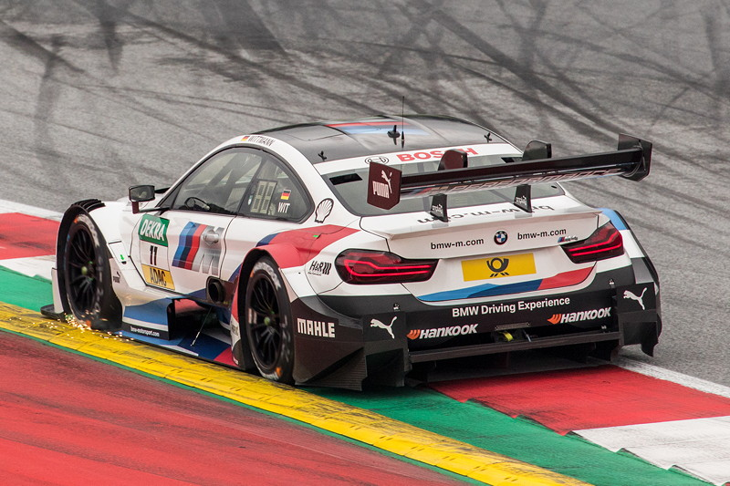 DTM in Spielberg, 23.09.2018, Qualifying. Marco Wittmann im BMW Driving Experience BMW M4 DTM.