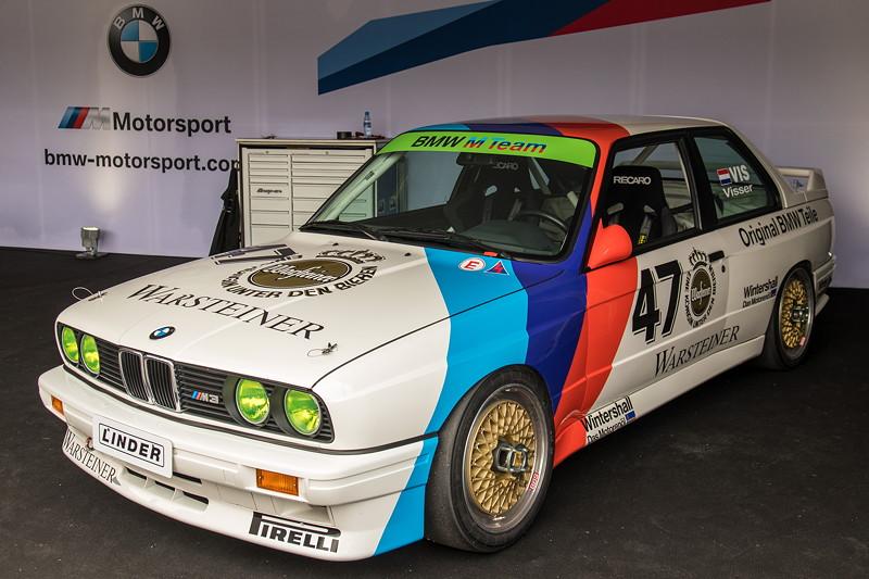 DTM in Spielberg, 23.09.2018. BMW M3 DTM Gruppe A (E30) aus den 1980er Jahren. Mit 2,3 Liter 4-Zylinder-Motor, 315 PS.