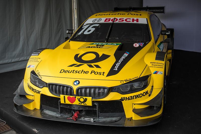DTM in Spielberg, 23.09.2018. aktueller BMW M4 DTM zum Vergleich neben dem E30.