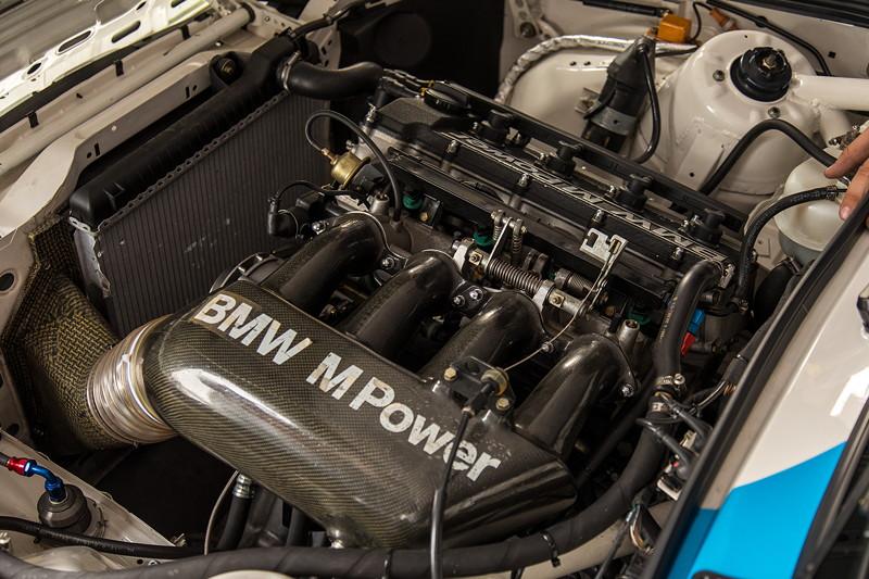 DTM in Spielberg, 23.09.2018. BMW M3 DTM Gruppe A (E30), 2,3 Liter 4-Zylinder-Motor mit 315 PS.