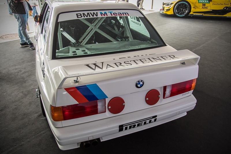 DTM in Spielberg, 23.09.2018, BMW M3 DTM Grupp A (E30) wurde den BMW Gästen exklusiv vorgestellt.