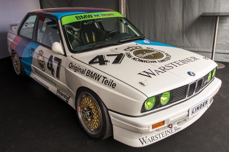DTM in Spielberg, 23.09.2018. BMW M3 DTM Gruppe A (E30) aus den 1980er Jahren.