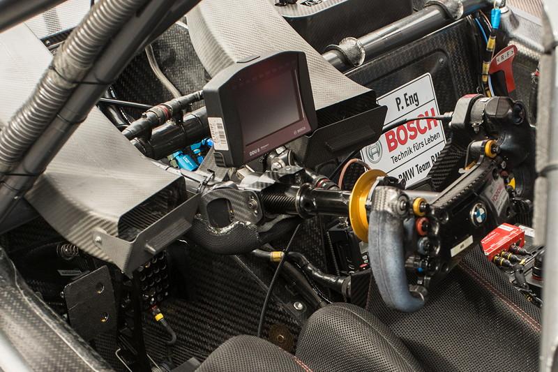DTM in Spielberg, 23.09.2018. Samsung BMW M4 DTM von Philipp Eng, Cockpit.