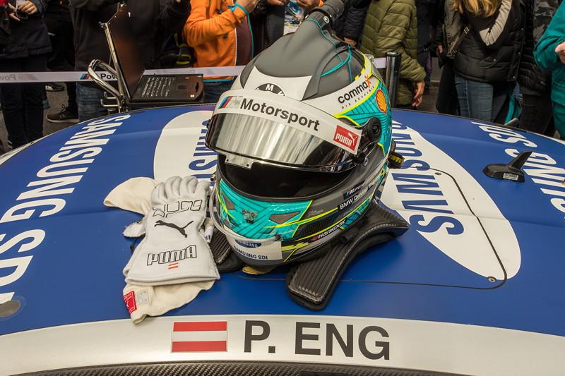 DTM in Spielberg, 23.09.2018. Samsung BMW M4 DTM von Philipp Eng in der Startaufstellung.