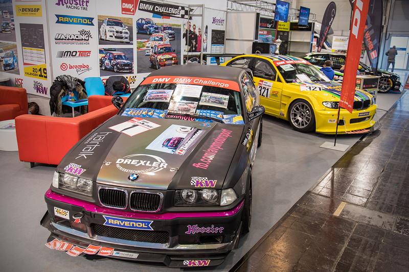 Essen Motor Show 2018: der DMV BMW 318ti Cup in Halle 5 zeigt einige 3er-BMWs