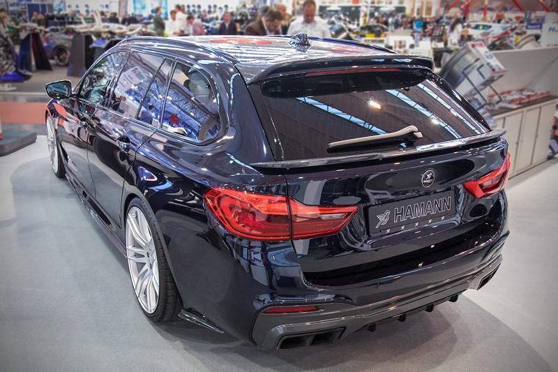 Essen Motor Show 2018: Haman BMW 5er Touring (G31)