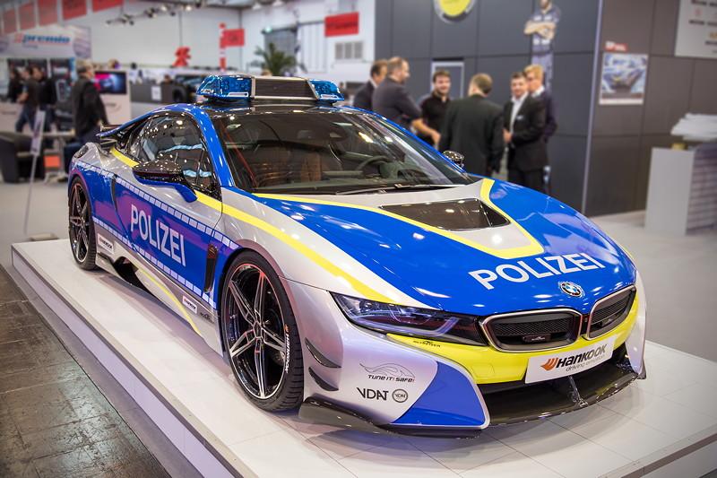 BMW i8 Polizeiwagen by AC Schnitzer