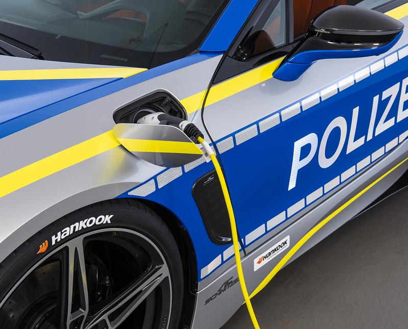 Polizeiauto BMW i8 by AC Schnitzer im Rahmen der 'Tune it safe' Kampagne des VDAT.