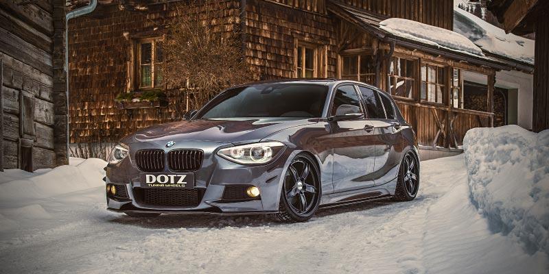 Essen Motor Show 2018: BMW 1er (F20), DOTZ SP5 black edt., Aussteller: ALCAR Wheels GmbH