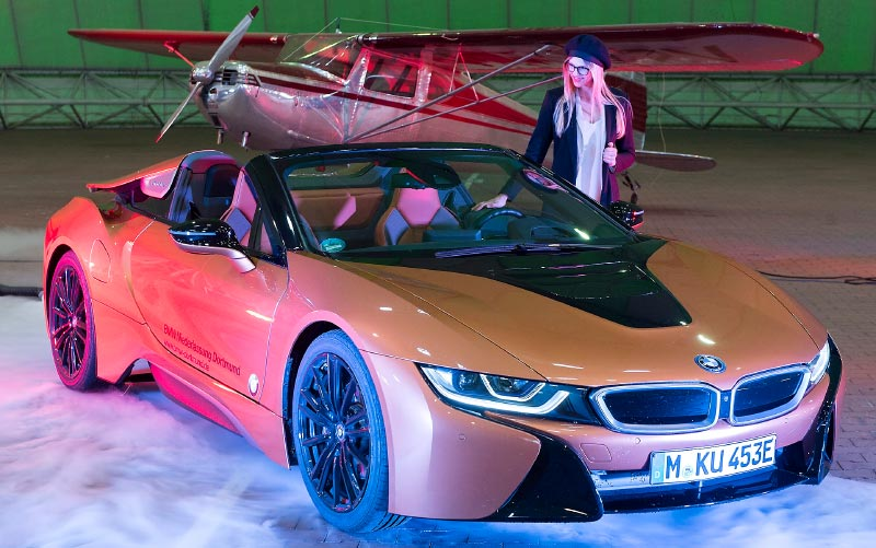 Essen Motor Show 2018: BMW i8 Roadster