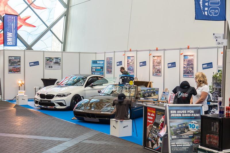 BMW Scene Magazin auf der Essen Motor Show 2018
