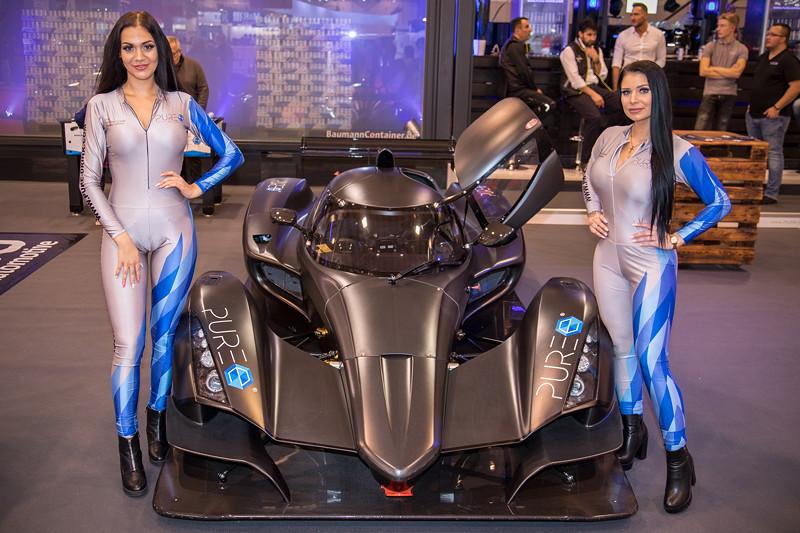 Essen Motor Show 2018: Messe-Girls