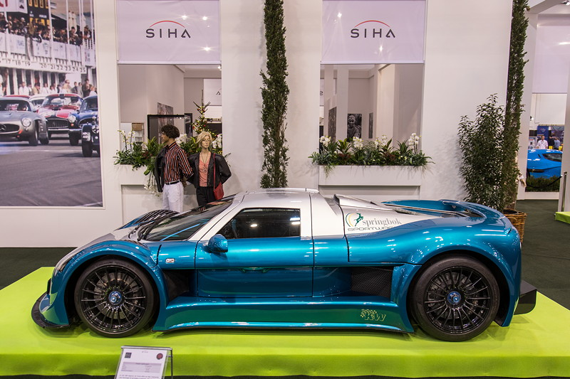 Gumpert Apollo Speed auf der Essen Motor Show 2018, S.I.H.A. Sonderausstellung 'Supersportwagen' in Halle 1