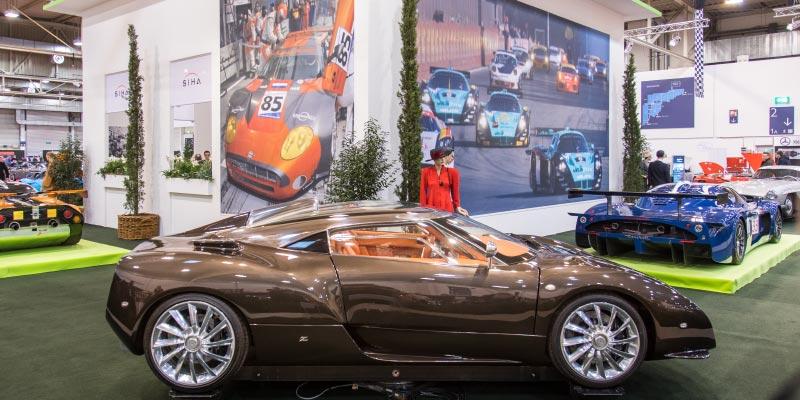 Spyker C12 Zagato, erstmals im Jahr 2017 auf dem Genfer Salon vorgestellt
