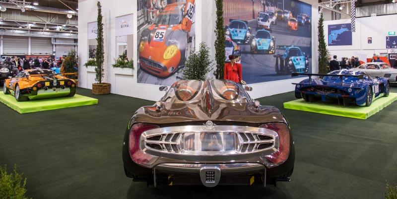 Spyker C12 Zagato, 1.480 kg schwer, in 3.8 Sek. auf 100 km/h