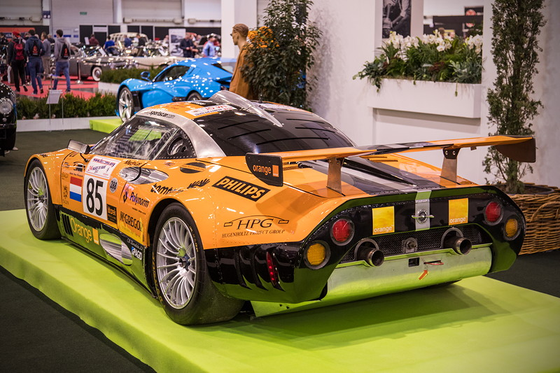 Spyker C8 GT2R, mit V8-Saugmotor, 400 PS