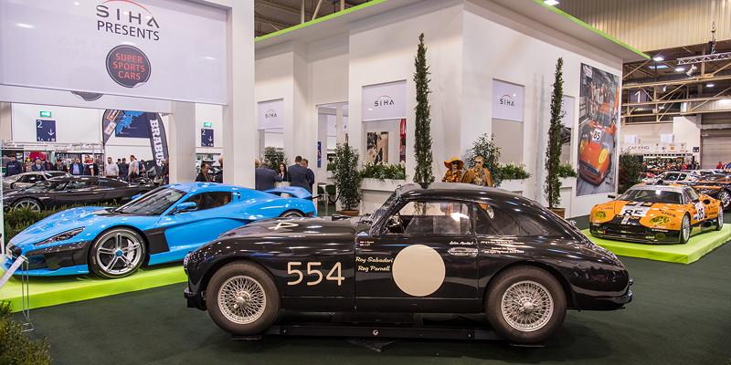 Aston Martin DB2 R auf der Essen Motor Show 2008, S.I.H.A. Sonderausstellung 'Supersportwagen' in Halle 1