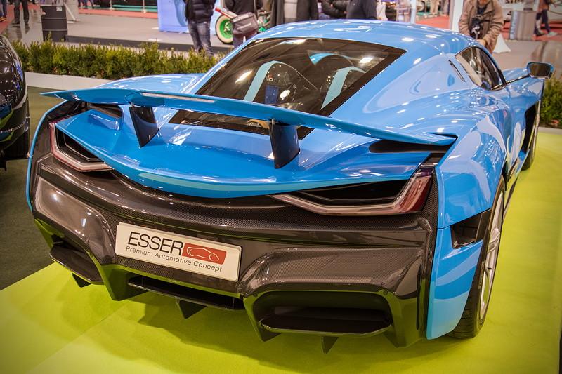 Rimac Concept 2, vmax: 412 km/h, mit besseren Reifen ginge es noch schneller