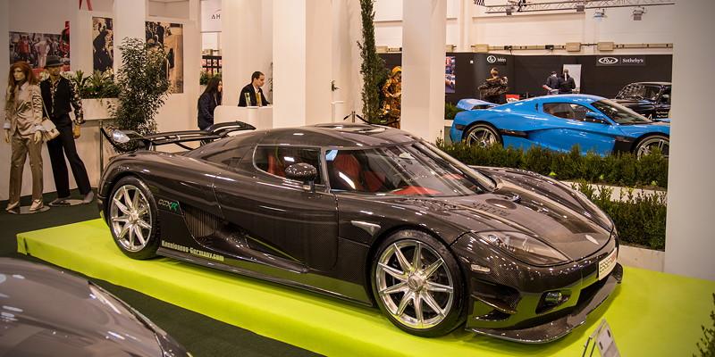 Koenigsegg CCX R, dritte Generation, erstmals vorgestellt auf dem Genfer Salon im Jahr 2006
