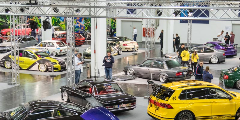 tuningXperience in Halle 1A, Essen Motor Show 2018