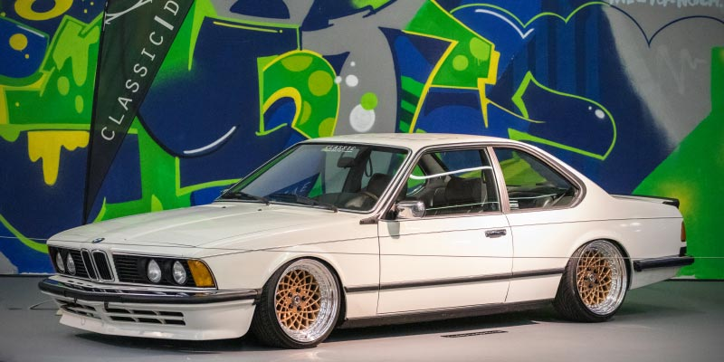 BMW 628 (Modell E24), Baujahr: 1982, Essen Motor Show 2018 - tunigXperience in Halle 1A