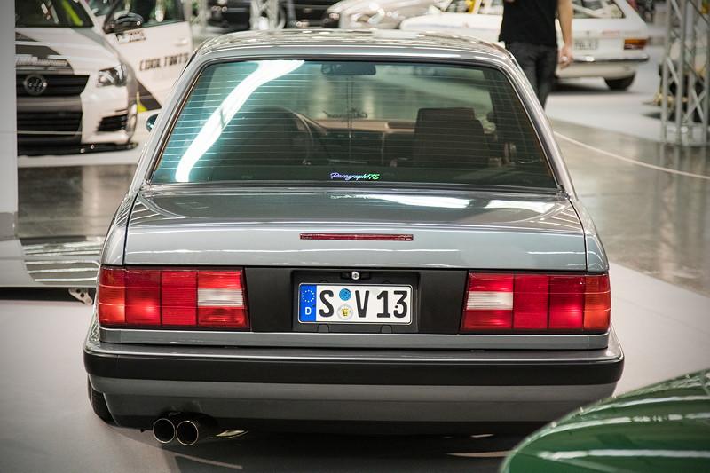 BMW 318is (Modell E30), mit modifiziertem 4-Zylinder-Motor, ca. 220 PS