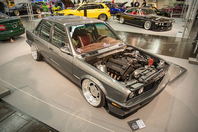 BMW 318is (Modell E30), Baujahr: 1990, Essen Motor Show 2018 - tunigXperience in Halle 1A