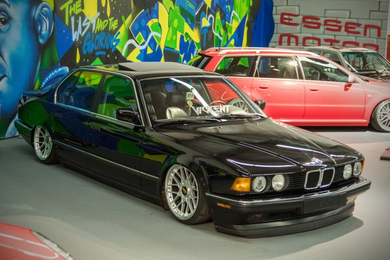 BMW 735i (Modell E32), Baujahr: 1992, Essen Motor Show - tuningXperience in Halle 1A