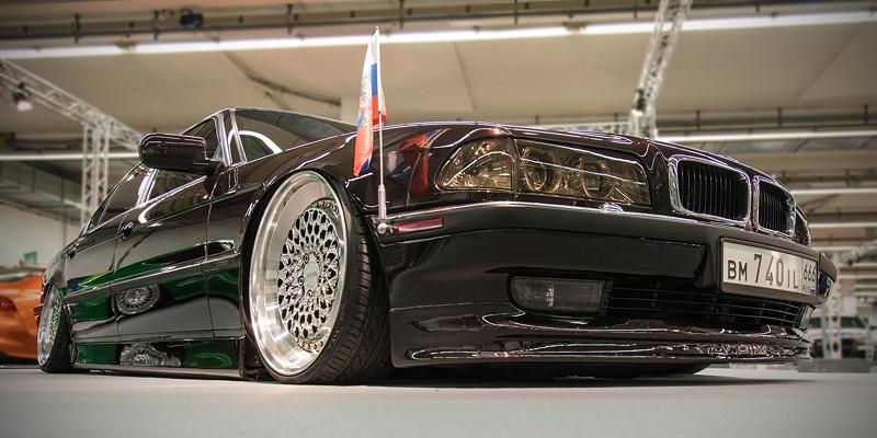BMW 740iL (Modell E38), Baujahr: 1998, Essen Motor Show 2018 - tuningXperience in der Halle 1A