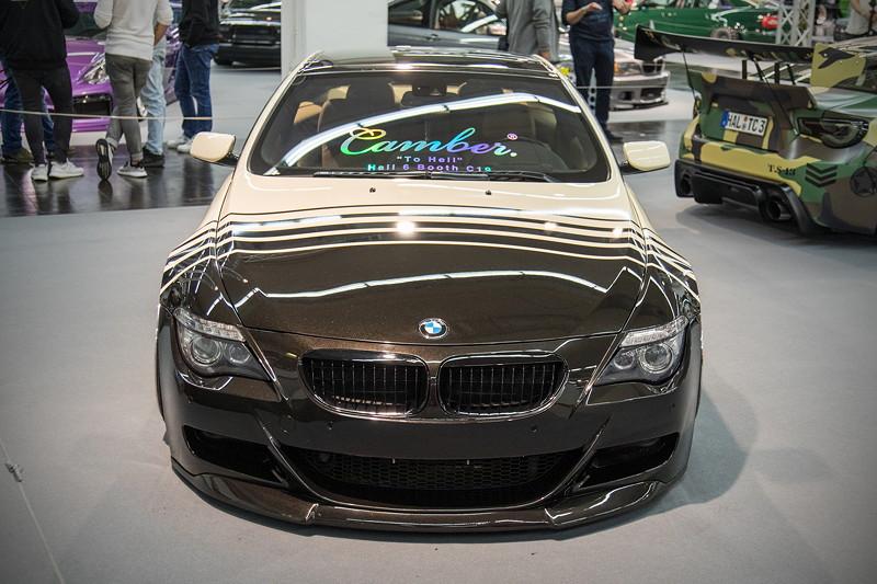 BMW 635d (Modell E63), mit 'HP-Drivetech' Airride Fahrwerk mit gekürzten Bilstein Stoßdämpfern, Airlift 3PH Steuerung
