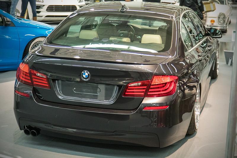 BMW 530d (Modell F10), mit getuntem 6-Zylinder-Dieselmotor, 330 PS
