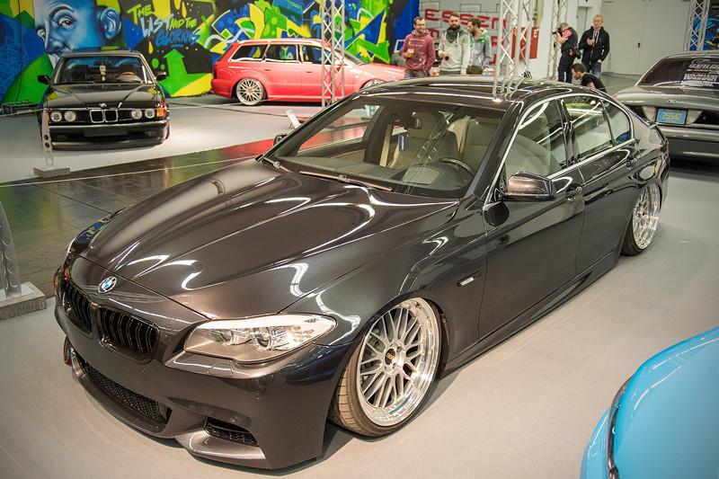 BMW 530d (Modell F10), BMW M5 Nieren, Frontumbau auf 'BMW M550d'