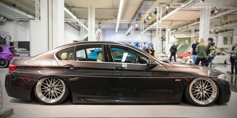 BMW 530d (Modell F10), Baujahr: 2012, Essen Motor Show 2018 - tuningXperience in Halle 1A