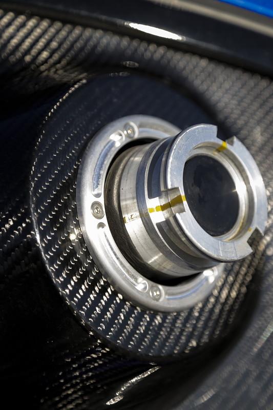 BMW M5 Drift, Betankungsanlage, eigens für den Rekord konstruiert.