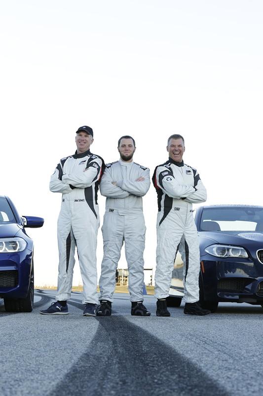 Johan Schwartz, Matt Butts und Matt Mullins.