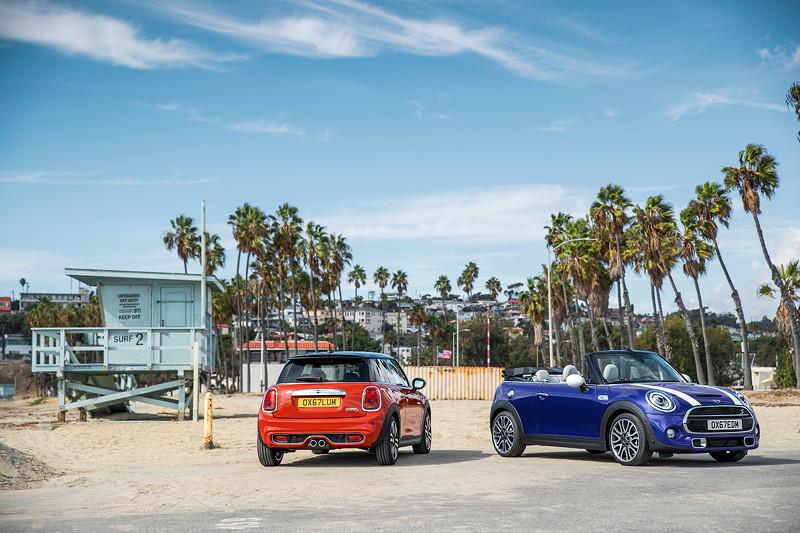 MINI Cooper Hatch und MINI Cooper S Cabrio (Facelift 2018).