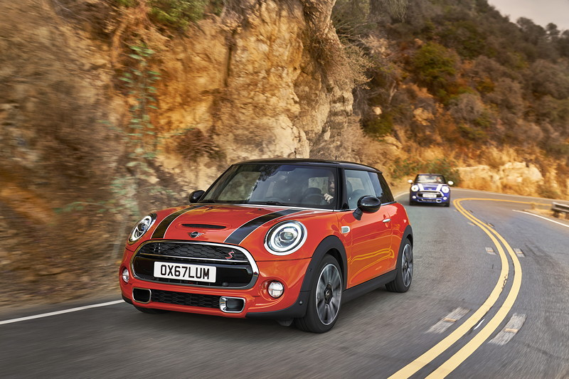 MINI Cooper Hatch und MINI Cooper Cabrio (Facelift 2018)