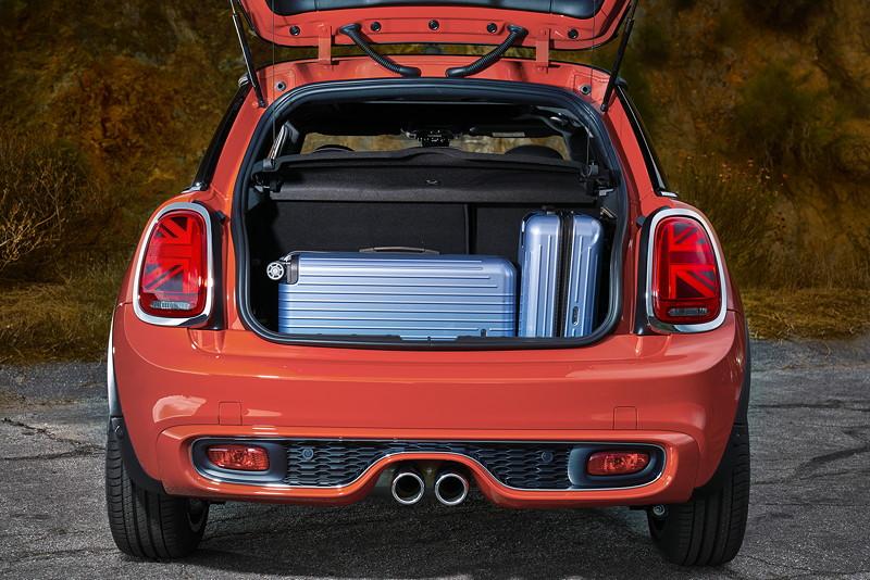 MINI Cooper S Hatch (Facelfit 2018), Kofferraum.