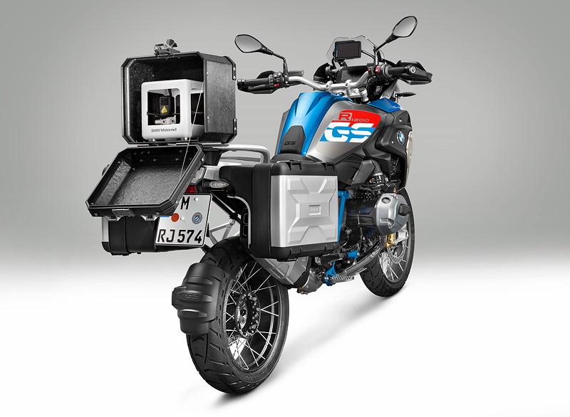 BMW Motorrad iParts 3D-Mobileprinter auf R 1200 GS