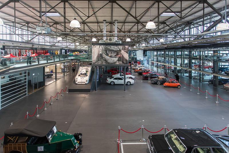 Blick in die MotorWorld Köln-Rheinland.