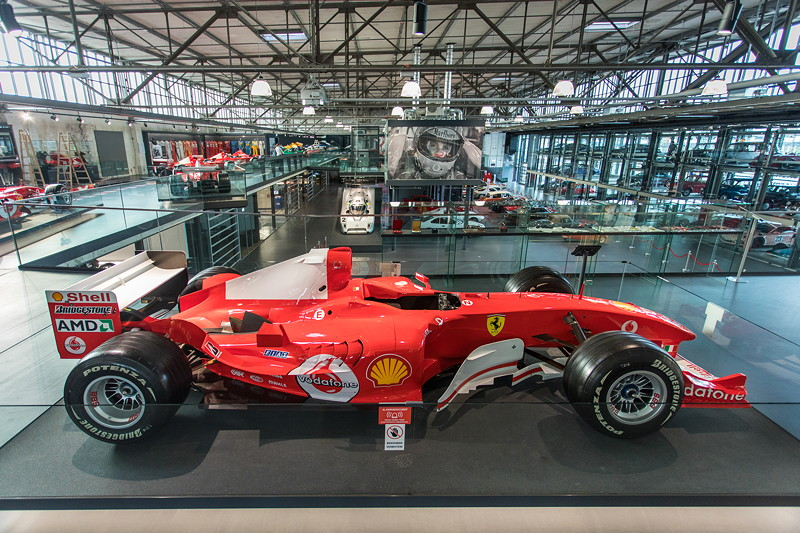 Michael Schumacher Private Collection in der im Juni 2018 neu eröffneten MotorWorld Köln - Rheinland.