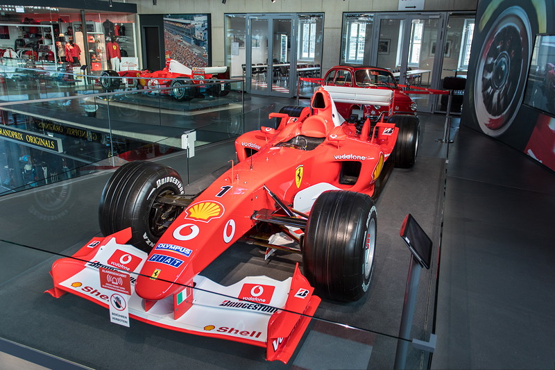 MotorWorld Köln-Rheinland, Michael Schumacher Private Collection: Ferrari F2002 - N223.