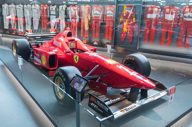 MotorWorld Köln-Rheinland, Michael Schumacher Private Collection: Ferrari F310-167. Erste Saison für Schumaher bei Ferrari im Jahr 1996. 3 Siege gelingen.