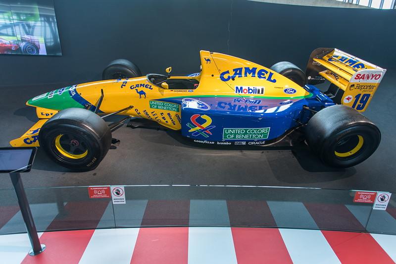 MotorWorld Köln-Rheinland, Michael Schumacher Private Collection: Benetton Ford Chassis B191B-06. 1991 fuhr Schumaher mit Nelson Piquet erstmals für Benetton.