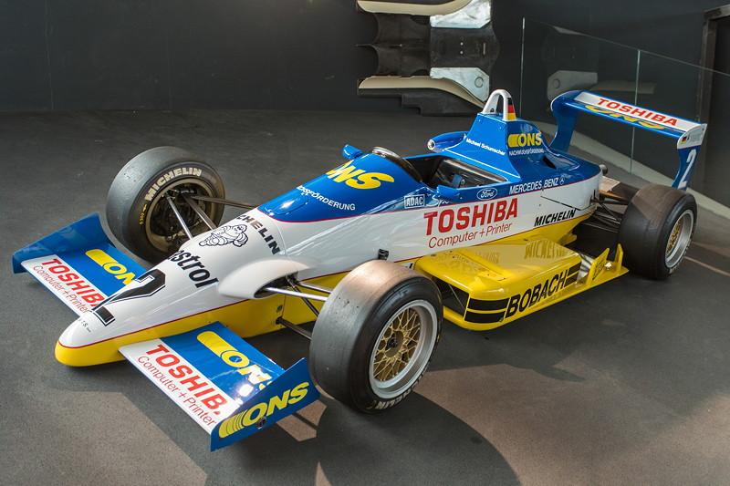 MotorWorld Köln-Rheinland, Michael Schumacher Private Collection: Formel 3 Auto Reynard 893 aus dem Jahr 1989 mit 2 Liter VW 4-Zylindermotor.