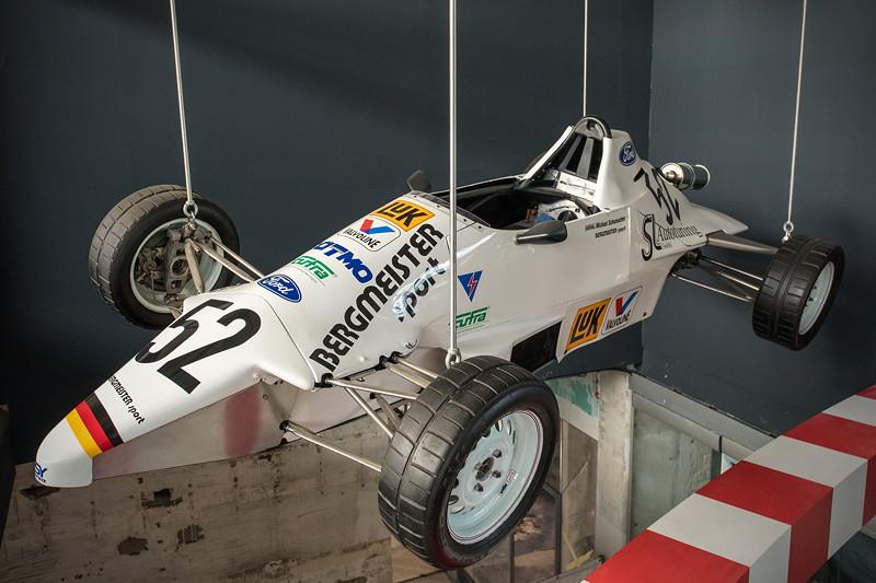 MotorWorld Köln-Rheinland, Michael Schumacher Private Collection: Formel Ford 1600. Der zweite Monoposto nach der Formel König beschert 1988 den Vize-Europameistertitel.