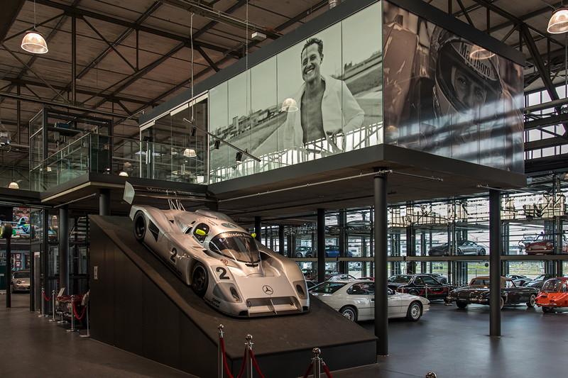 MotorWorld Köln-Rheinland, Michael Schumacher Private Collection: Sauber Mercedes-Benz Group aus 1990/1991